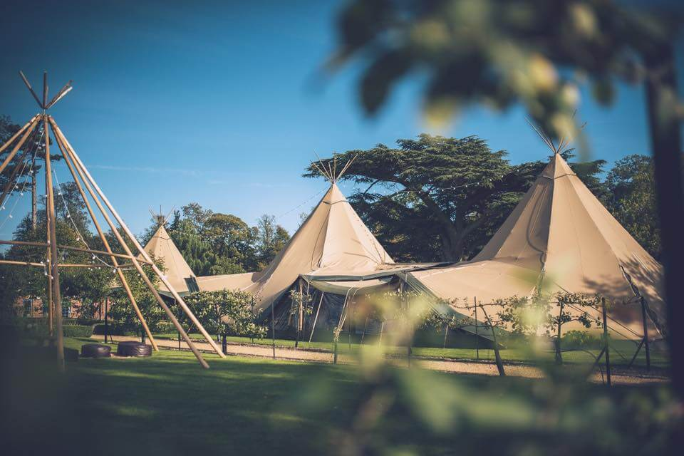 Dog Handler for The Cambridge Tipi Company