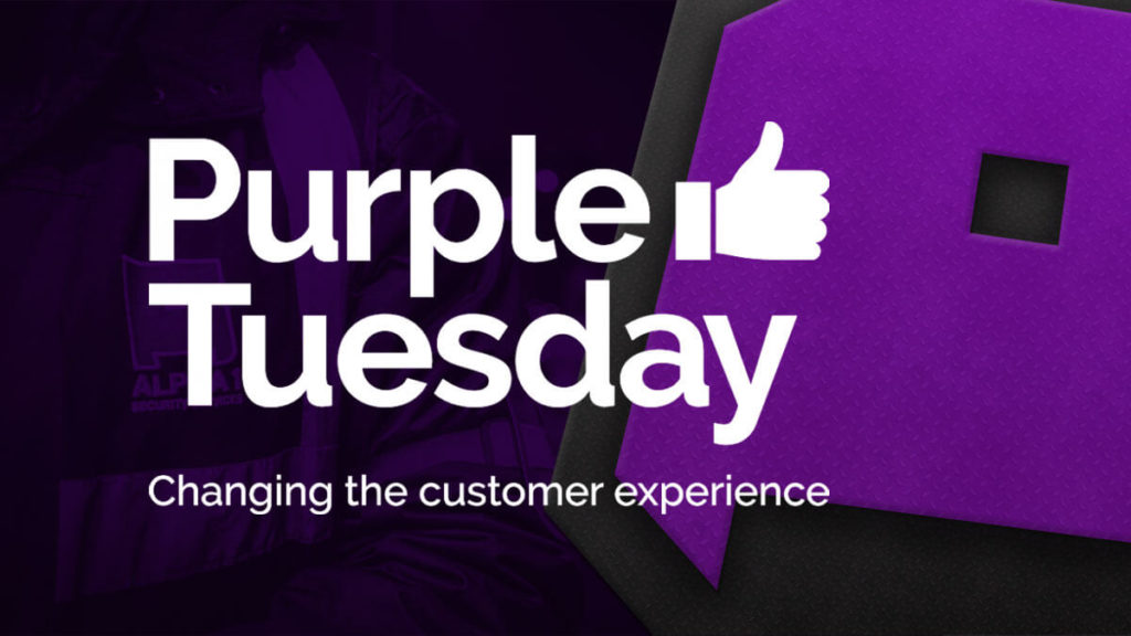 Supporting Purple Tuesday